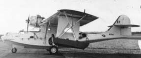 A Catalina flying boat